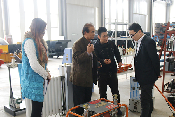 Warmly Welcome Japanese Merchants to Visited China Coal Group for On-site Auditing