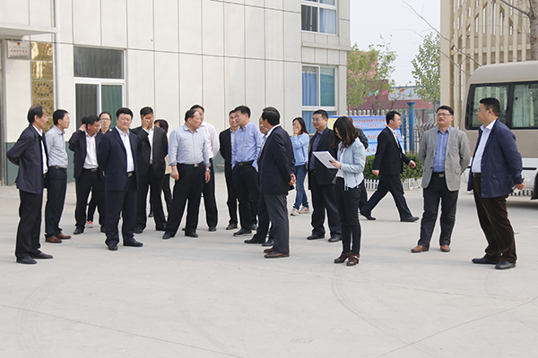 Warmly Welcome Leadership of Jining High-Tech Zone to Visit China Coal Group