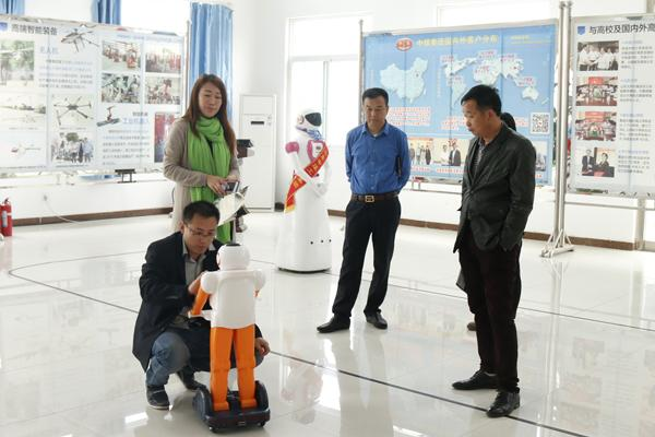Warmly Welcome Weifang Merchants to Visit China Coal Group for Examining Intelligent Robot