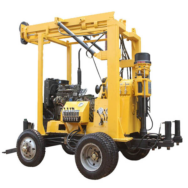 Four Wheel Tractor Mounted Borehole Drilling Rig