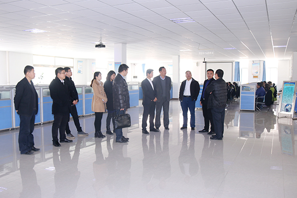 Leaders of Jining College to Visit Shandong China Coal Group For School Enterprise Cooperation