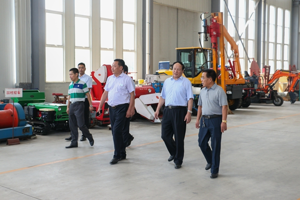Former Jining City Leaders Visit China Coal Group for Guidance
