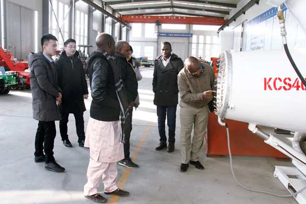 Welcome Nigerian Merchants To Visit China Coal Group for Agricultural Equipment