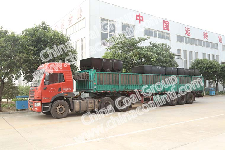 A Group of G20 Hand Held Air Compressor Pneumatic Pick Jack Hammer of China Coal Group Sent to Yinzhou Shanxi Province