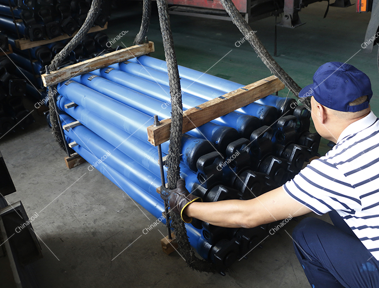 China Coal Group Mining Sent Single Hydraulic Props To Shanxi Province