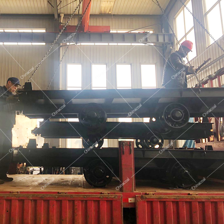 China Coal Group Sent A Batch Of Mining Flat Cars To Anhui Province
