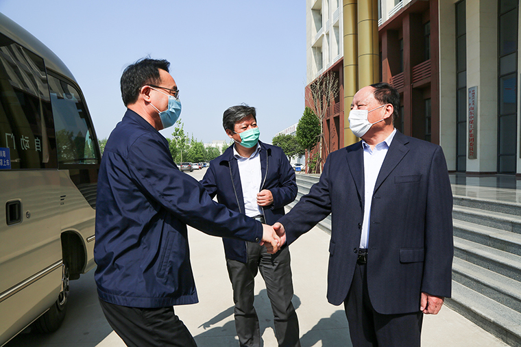 Warmly Welcome The Leaders Of Shandong Academy Of Social Sciences To Visit China Coal Group