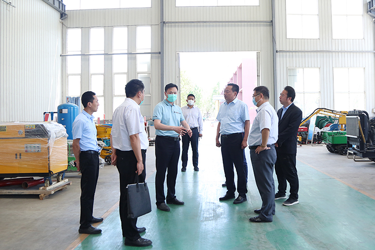 Warm welcome Jining Aid Xinjiang Command leadership Visit China Coal Group