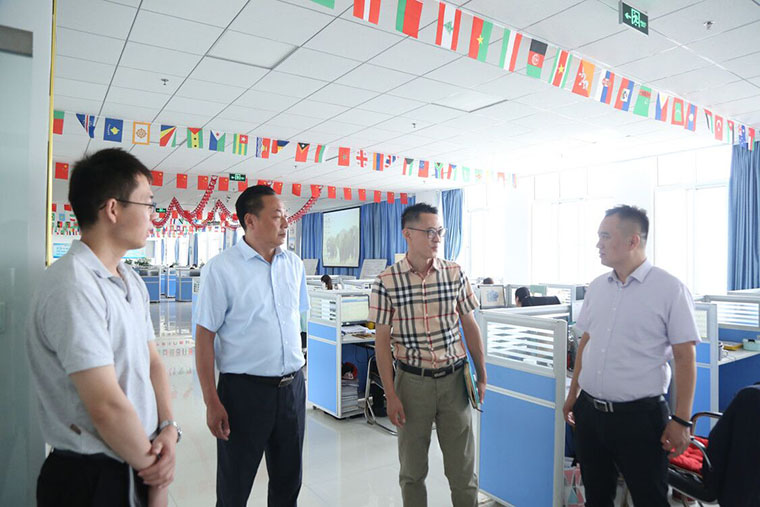 Warmly Welcome The Leaders Of The Science And Technology Innovation Bureau Of Jining High-Tech Zone To Visit And Investigate