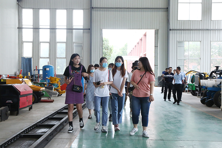 Warmly Welcome The Teachers And Students Of Shandong University Of Political Science And Law To Visit China Coal Group