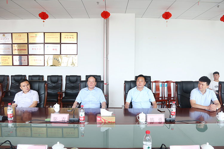 Warm Welcome Handan Iron Steel Group Leaders To Visit China Coal Group Inspection Cooperation